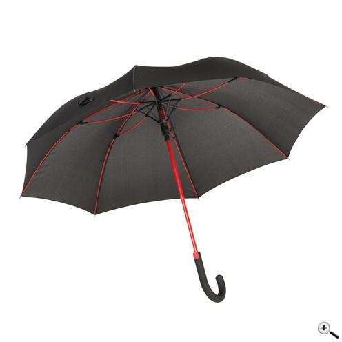CANCAN automata esernyő, fekete-vörös