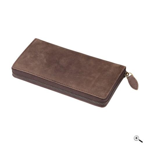 LADY bőr pénztárca (RFID blokkolóval)